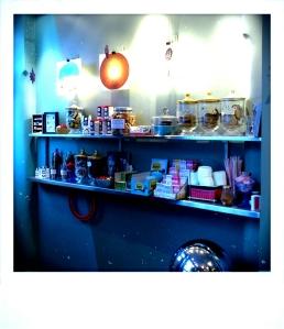 Inside Coffee place