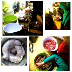 Making da sausage