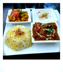 1. Indian lunch