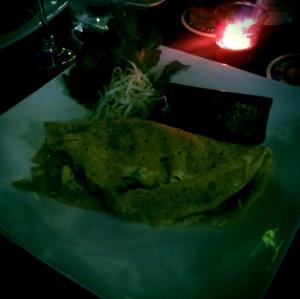 Thai omelett