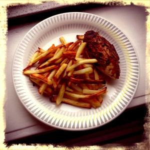Done chicken