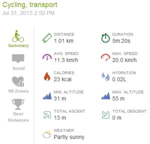 Biking I