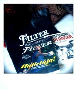 Mag, book and bag