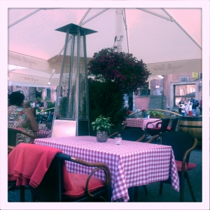 13. The restaurant