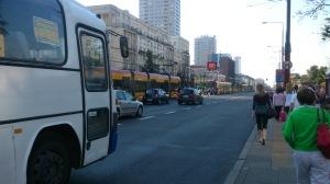 Tram chaos